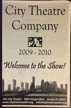 City Theatre Company 2009-2010