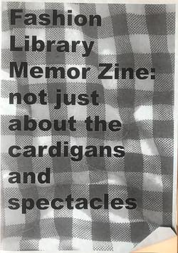 Fashion Library Memor Zine