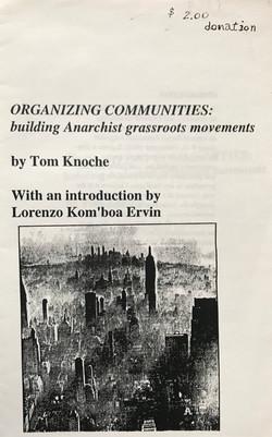 Organizing Communities - Building Anarchist Grassroots Movements