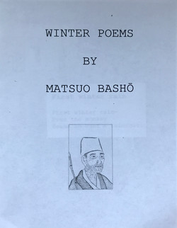 Winter Poems by Matsuo Basho