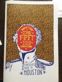 Houston Zine Fest 2013 Compilation: