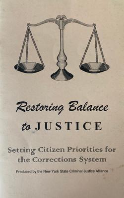 Restoring Balance to Justice