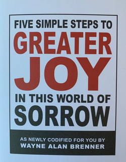 Five Simple Steps to Greater Joy in This
