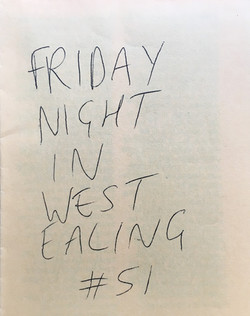 Friday Night in West Ealing