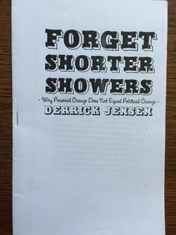 Forget Shorter Showers