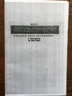What Victim Awareness Teaches...