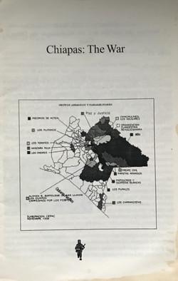 Chiapas The War