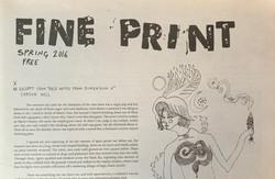 Fine Print Spring 2016