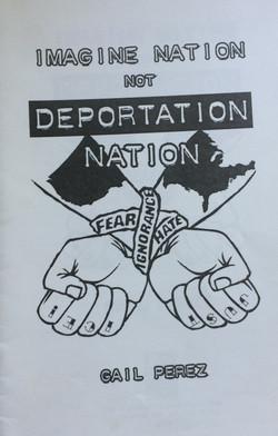 Imagine Nation Not Deportation Nation