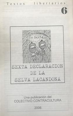 Sexta Declaracion de la Selva Lacandona