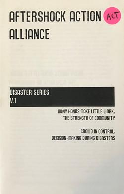 Aftershock Action Alliance Disaster Seri