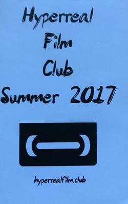 Hyperreal Film Club Summer 2017