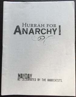 Hurrah for Anarchy!
