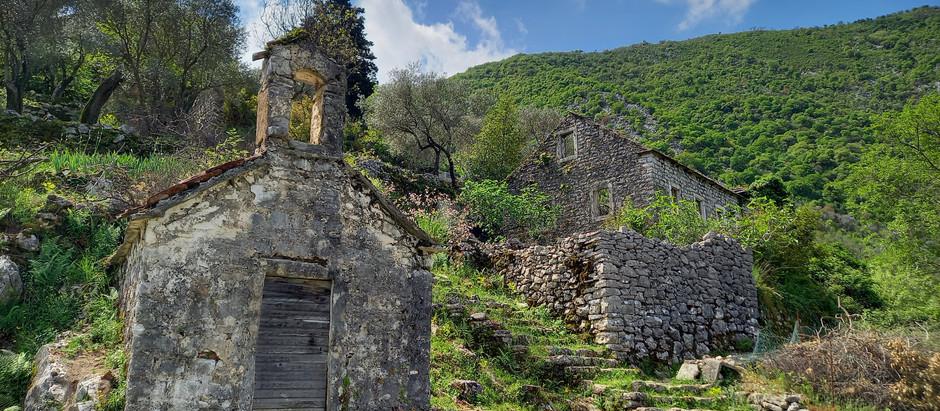 Village of Gornji Stoliv in Bay of Kotor