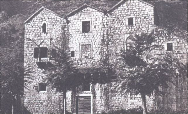 """Palace of """"Tre Sorelle"""" in Prcanj, Montenegro"""