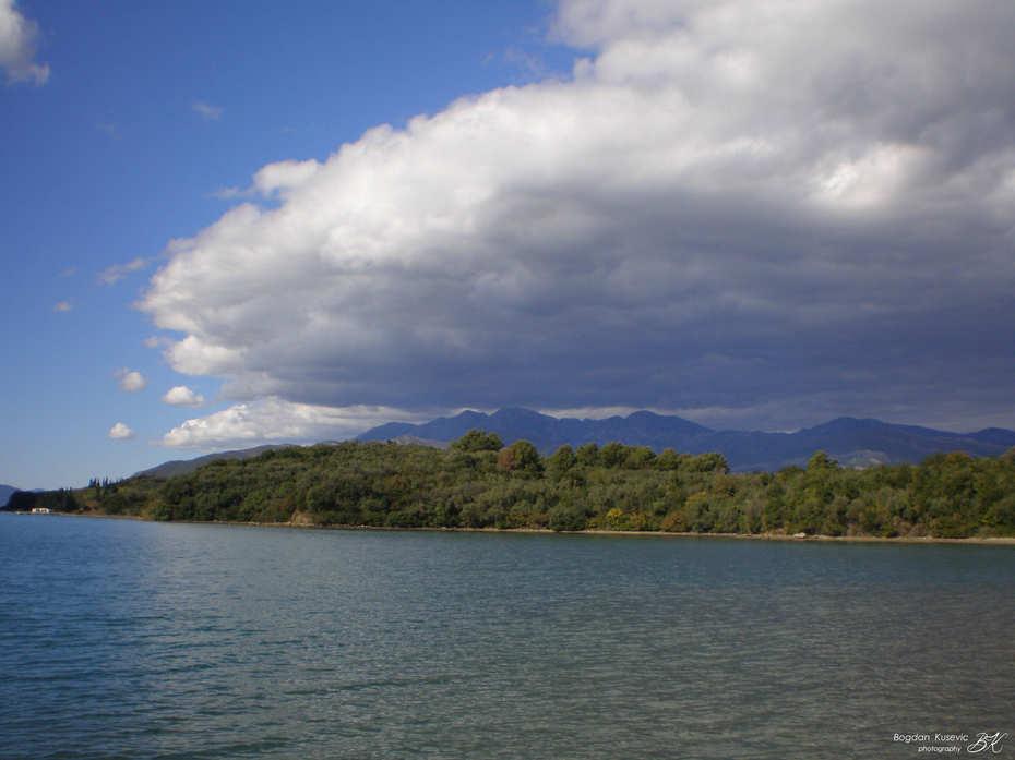 Bay  of Tivat - Boka Kotorska, Montenegro