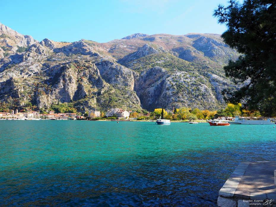 View towards Kotor, Montenegro