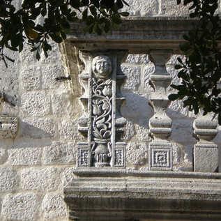 Balcony stone plastics