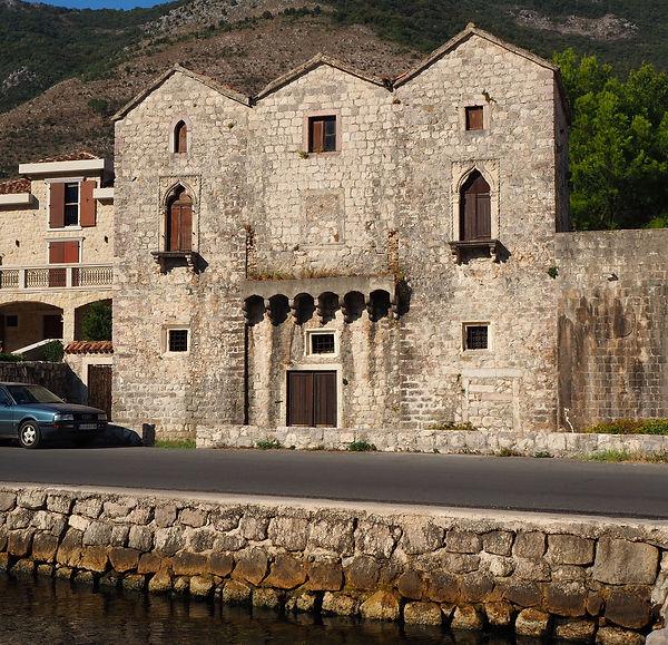 "Palace ""Tre Sorelle"" Prcanj, Bay of Kotor"