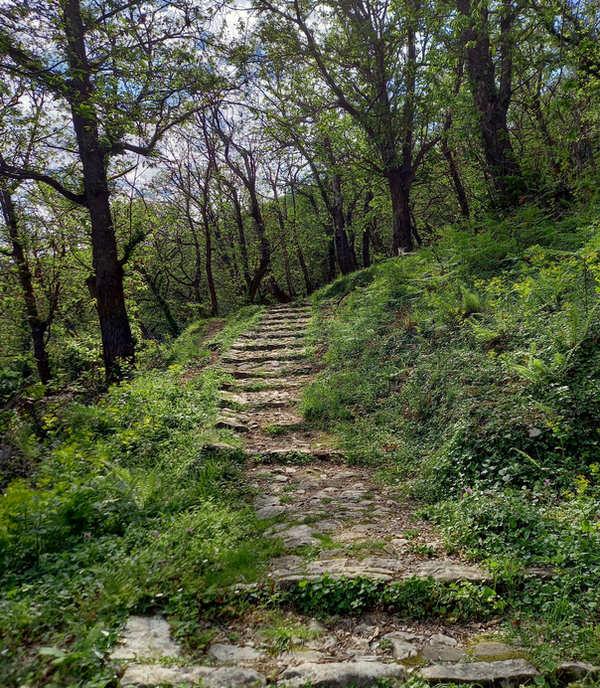 Staza do Gornjeg Stoliva