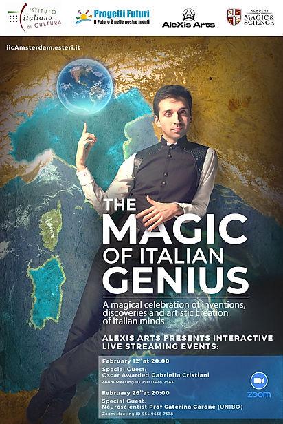 locandina The Magic of Italian Genius.jp