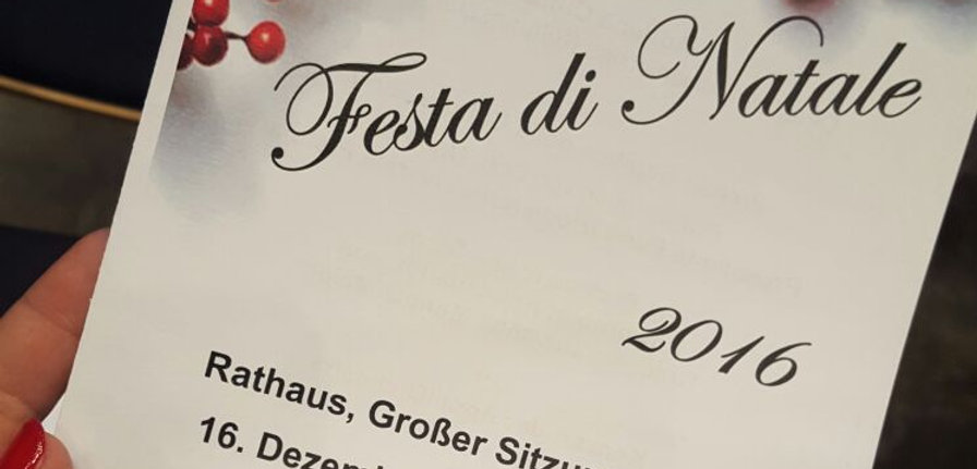 Concerto di Natale Stoccarda i solisti appuli Progetti Futuri presso istituto itaiano di cultura di stoccarda