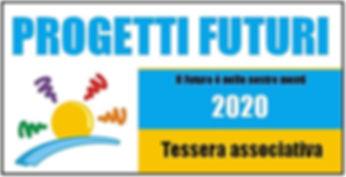 Tesseramento dell'associazione culturale Progetti Futuri
