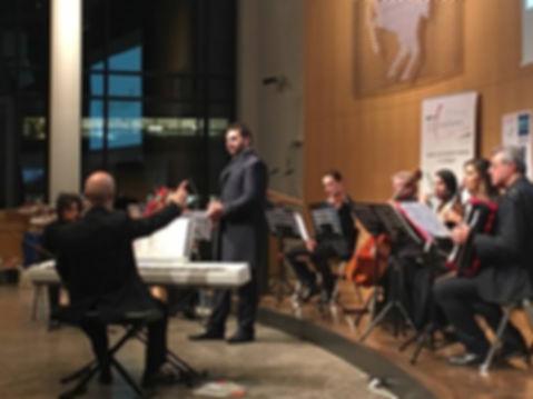 Concerto di Natale Stoccarda i solisti appuli Progetti Futuri presso istituto italiano di cultura di stoccarda