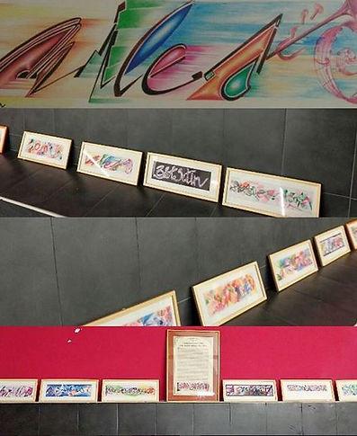 Mostra di grafica rino colletta dedicata al jazzista jazz Davis Miles Progetti Futuri Associazione Culturale