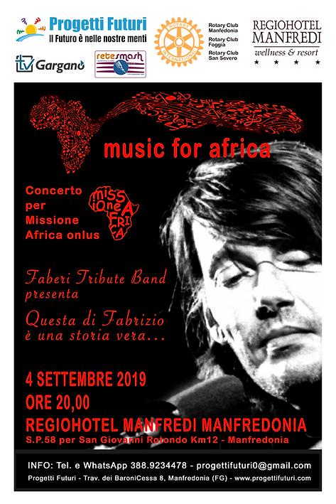 Concerto di Beneficenza per Missione Afr