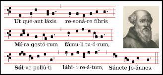 L'origine della denominazione attuale delle note musicali