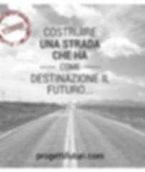 Il fine dell' associazione progetti futuri è quella di costruire una strada che ha come destinazione il futuro per Manfredonia