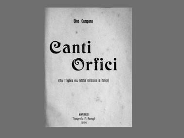 Dino Campana: Il poète maudit italiano