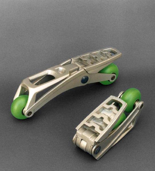 Folded Rollerblades