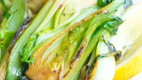 Lemon Garlic Bok Choy