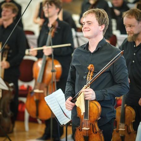 Představujeme violistu Jakuba Vernera