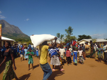 Second Food Aid Distribution