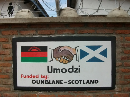 Funded by Scotland, Cared for by Malawi