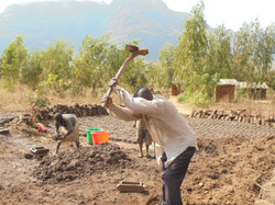 Work in progress at Chilanga village.JPG