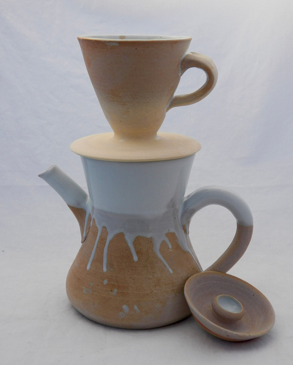Coffee Pot with Pour-over Dripper