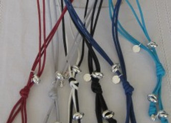 Collier corde long 3 anneaux Jaseron
