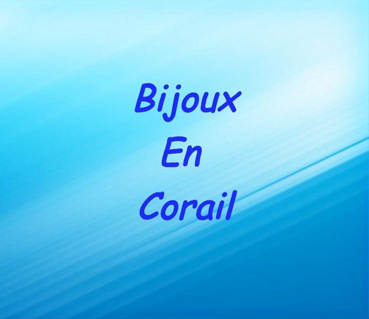 Bijoux en corail