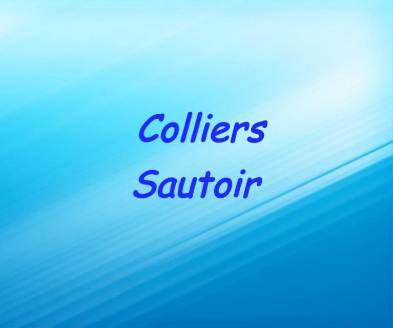 Colliers sautoir