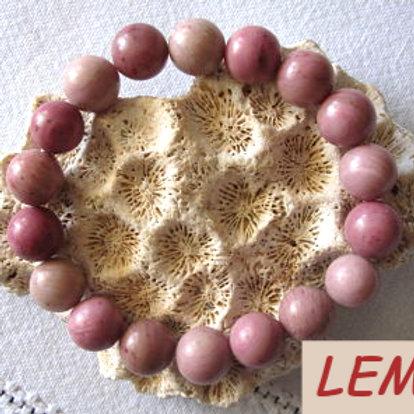 Bracelet pierres Rodochrosite