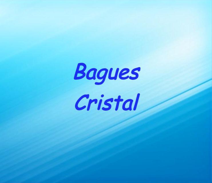 Bagues Cristal