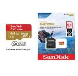 SanDisk SQXAF 64Gb MicroSD Extreme 100MB/s Action Cam