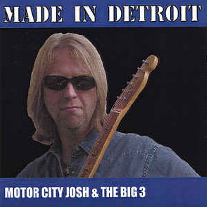 """Made in Detroit"" CD"