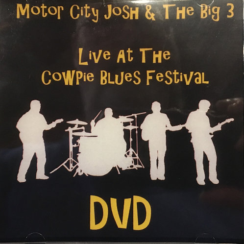 """Live at the Cowpie Blues Festival"" DVD"