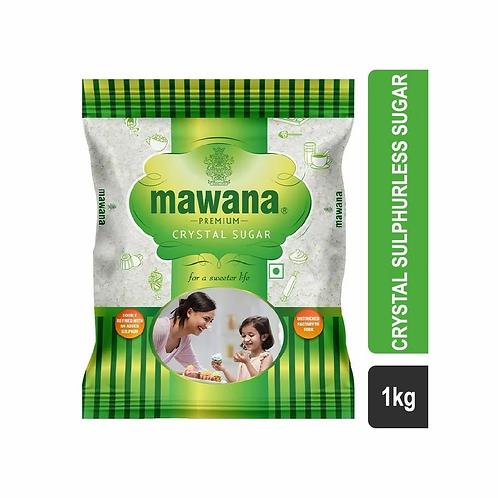 Mawana Premium Crystal Sulphurless Sugar 1 KG