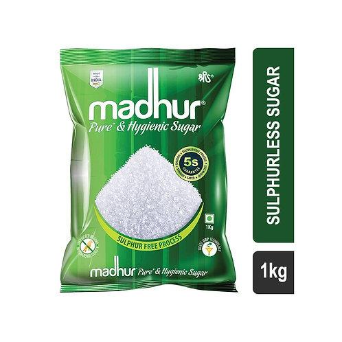 Madhur Pure & Hygienic (M30) Sulphurless Sugar 1 KG
